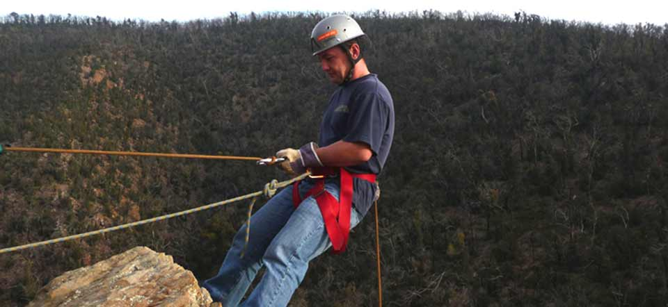 Abseiling with Kaykaze Adventure Experiences